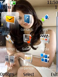 Aishwarya Bachan Nokia Theme Mobile Theme