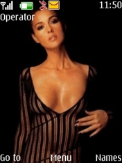 Monica Bellucci Nokia S40 Theme Mobile Theme