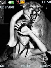 Rihanna Nokia Theme Mobile Theme