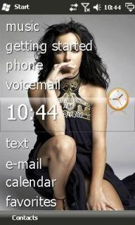 Britney Spears Htc Theme Mobile Theme
