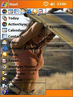 Megan Fox Htc Theme Mobile Theme