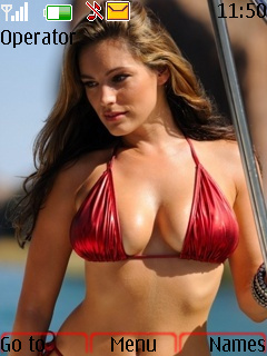 Kelly Brook Theme Mobile Theme