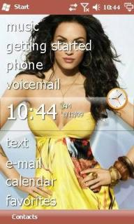 Megan Fox Theme Mobile Theme