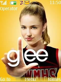Glee Theme Mobile Theme