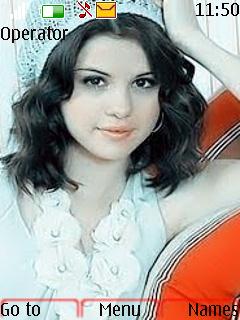 Selena Gomez Theme Mobile Theme