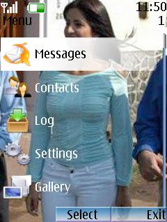 Katrina Kaif Theme Mobile Theme