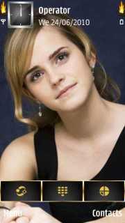 Emma Watson Mobile Theme