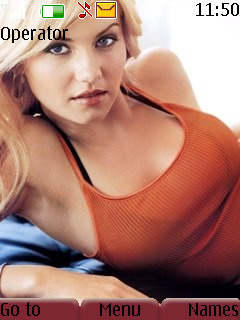 Hot Actress Mobile Theme