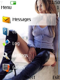 Jennifer Lopez Theme Mobile Theme
