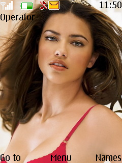 Adriana Lima Mobile Theme