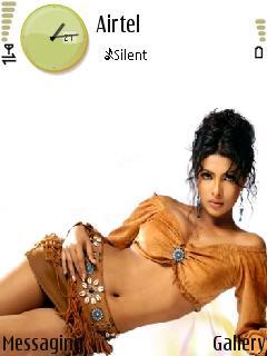 Priyanka Mobile Theme