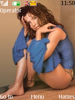 Sandra Bullock Mobile Theme