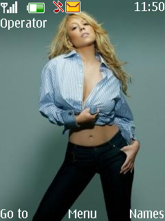 Mariah Carey Mobile Theme