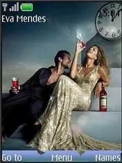 Eva Mendes Mobile Theme