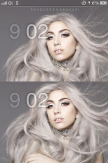 Lady Gaga's Hot Style IPhone Theme Mobile Theme