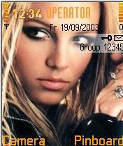 Britney Mobile Theme