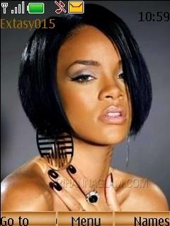 Rihanna Mobile Theme