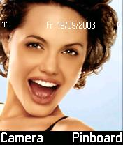 Angelina Jolie II Mobile Theme