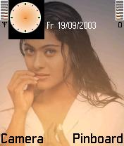 Kajol Indian Actress Theme Mobile Theme