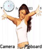 Kareena Nokia Theme Mobile Theme