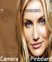 Cameron Diaz Mobile Theme