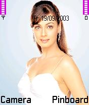 Diya Mirza Mobile Theme