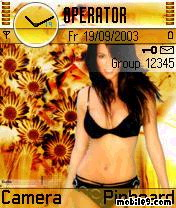 Brooke Burke Mobile Theme
