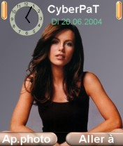 Kate Beckinsale Mobile Theme