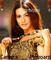 Amrita Rao Mobile Theme