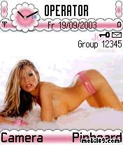Katie Price Mobile Theme