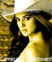 Pretty Zinta Mobile Theme