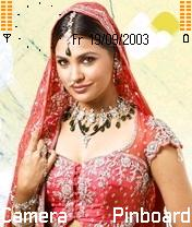 Lara Dutta Mobile Theme