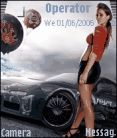 Prostreet Girl Mobile Theme