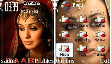 Rani Mukherjee-Babul Movie Mobile Theme