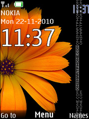 Colorful Flowers Mobile Theme
