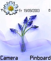 My Flowers Mobile Theme