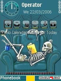 Reading Skeleton By Shahid Mobile Theme