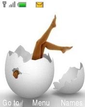 Leggs In Broken Eggs Mobile Theme