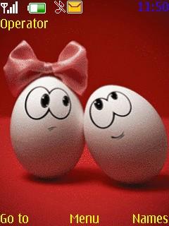 Funny Eggs Nokia Theme Mobile Theme
