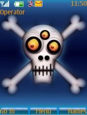 Funny Skull Theme Mobile Theme