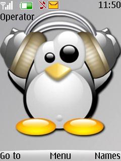 Linux Theme Mobile Theme