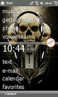Skulls Theme Mobile Theme