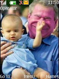 Baby And Bush Mobile Theme