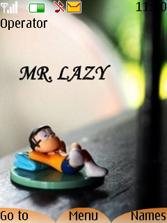 Mr Crazy Mobile Theme