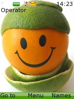 Smiley Mobile Theme