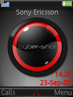 Cyber-Shot Mobile Theme