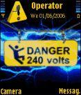 Dangerous Phone Mobile Theme