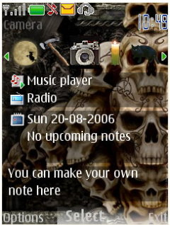 Skullz Mobile Theme