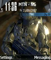 Halo Mobile Theme