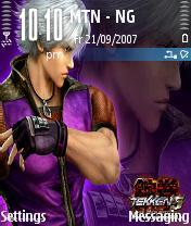 Tekken Dark Resurec Mobile Theme